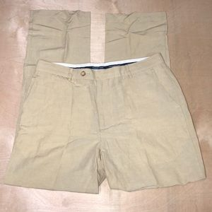 Vineyard Vines Clubhouse Linen Silk Pants 36x34
